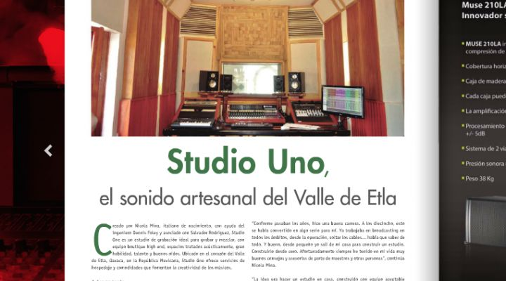 Studio Uno en Sound:Check